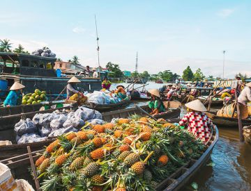 Cai Be Floating Market - Tan Phong Island Tour